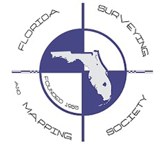 Florida Surveying & Mapping Society Logo | Benchmark Land Services Associations and Certifications
